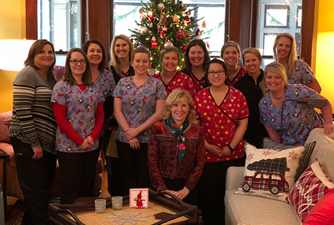 meister ortho - staff holiday photo